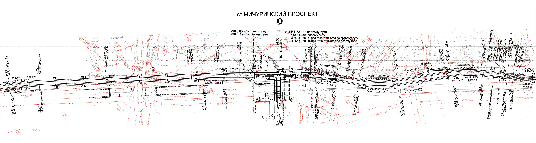 Солнцевская линия метро схема раменки