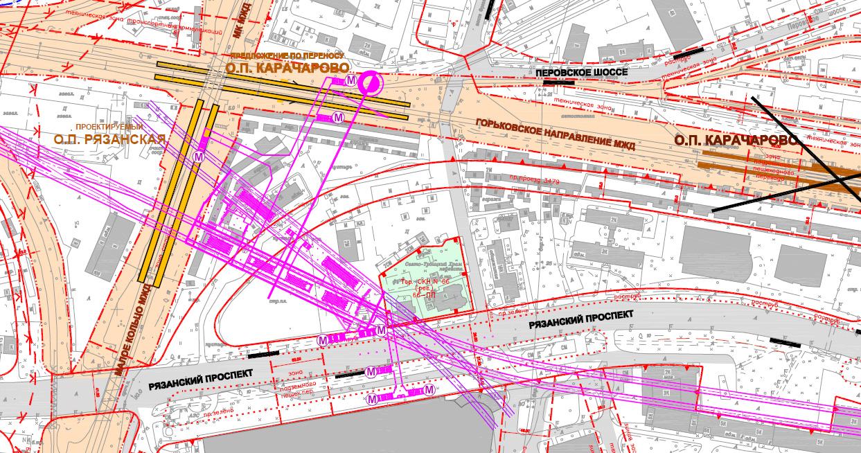 схема метро москвы разрезы станций