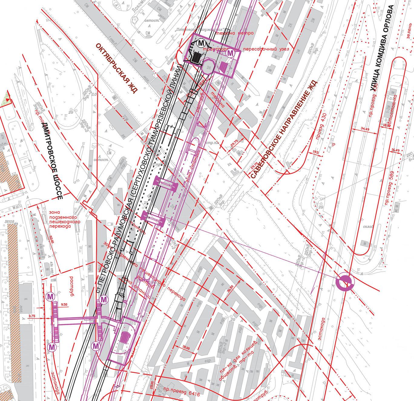 В прямом эфире: схема метро. Краснопрснская, vede-enkha.
